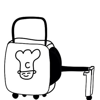 第124回カットコンクール優秀作品「フライパンキャリーバッグ」