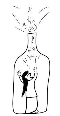 第134回カットコンクール優秀作品「Messager in a Bottle」